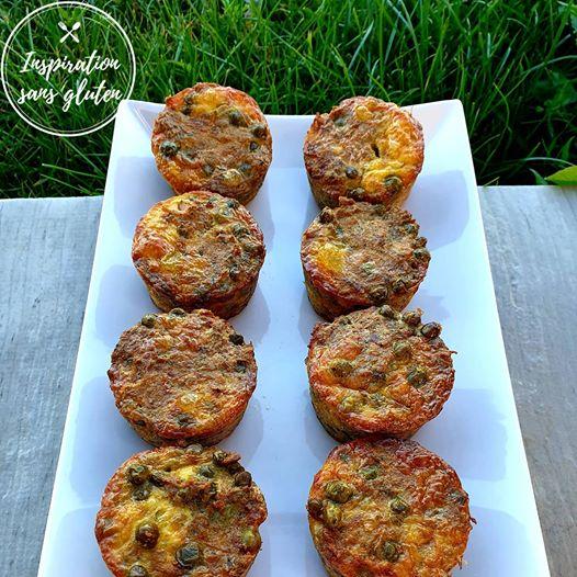 Muffins thon et petits-pois