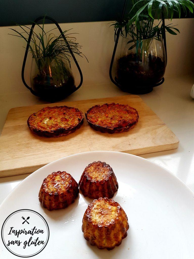 Tartelettes aux légumes et muffins : une base, deux recettes sans gluten