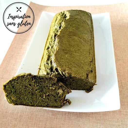Cake frais épinards et menthe