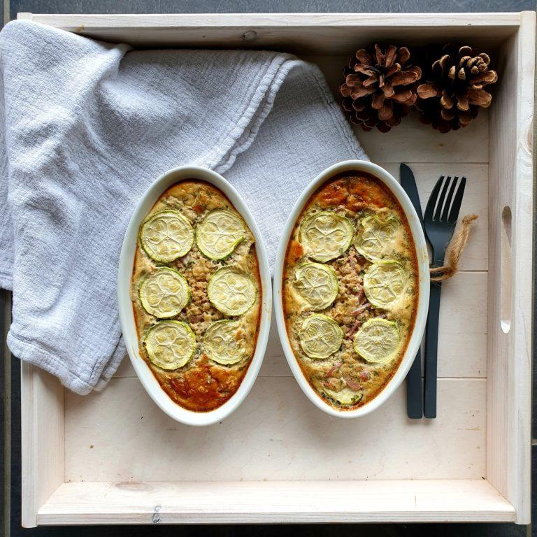 Terrine jambon courgettes