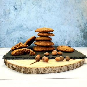 Biscuits moelleux sans gluten noisette et sésame
