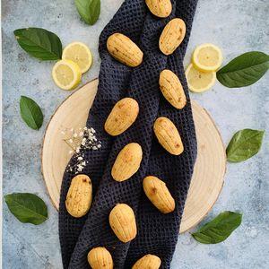 Madeleines sans gluten citron et pavot