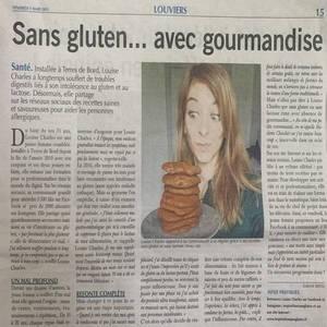 On parle de moi dans le «Paris Normandie»