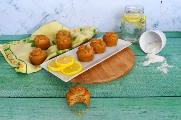 Muffins citron et noix de coco