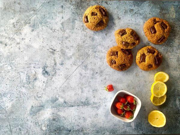 Cookies chocolat et citron