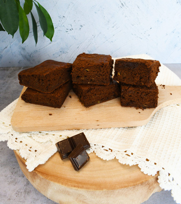 Gâteau moelleux banane chocolat